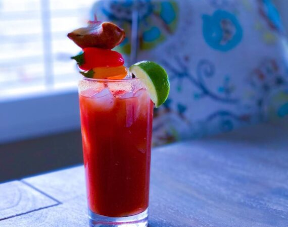 a delicious bloody mary
